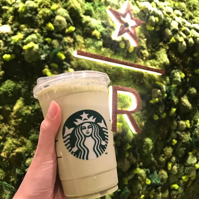 Nitro green tea latte ($8.7 for Venti)