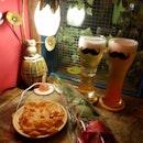 Fruity Beer & Popcorn Chicken!