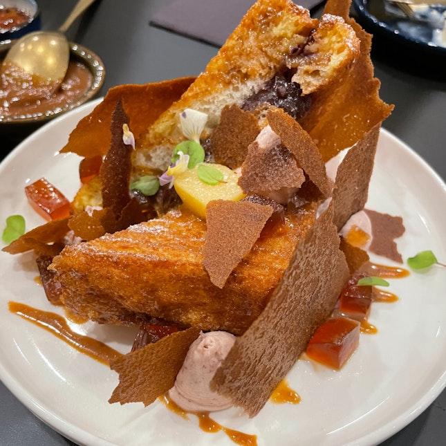 YY-HK French Toast $18