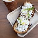 Burrata On Toast $8.50