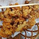 """street food"" + ""taiwanese food"" not super cheap & not so nice 😜 é fried squid was fine, é mee sua & lor bak rice was meh 😣 ."