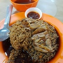 gud m0rning t0 é f00d in YISHUN 🤣🤣 Braised Duck Yam Rice x Laksa .