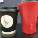always missing @forewordcoffee's c0ffee & my @sttokeofficial cup whenever n0t at w0rk 😶 + i have a new ☕ khaki t00!
