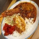 P0rk & Ebi Curry Rice (spiciness L2) • • • • • • • • • • #chefavenuesg #japanesefood #sgfood #sgfoodie #sgfoodies #sgeats #sgeatout #sgig #igsg #foodporn #foodspotting #foodinsing #foodie #instafoodsg #jiaklocal #burpple #burpplesg #swweats #hungrygowhere #8dayseat #whati8today #eatbooksg