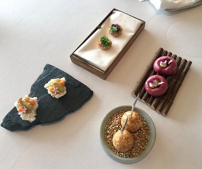 Lunch / 12 Oct 2018: Starters.