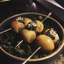 Luxurious quail eggs #burpple