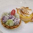 Ondeh ondeh tart x lemon meringue tart.