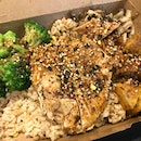 Protein ! Chicken Broccoli Brown Rice And Baby Potato