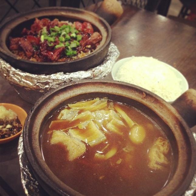 Bak Kut Teh(black)  & Clay Pot