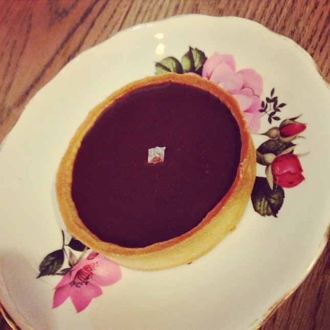 Sea Salt Chocolate Tart #burpple