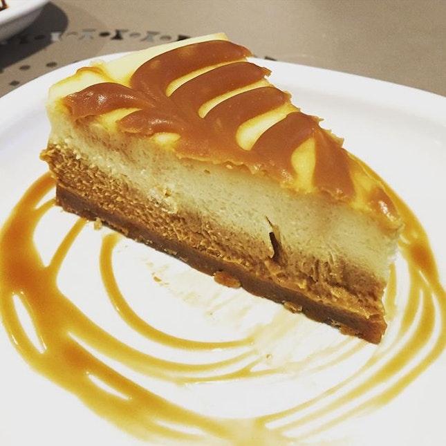 Very rich tasting salted caramel cheesecake #burpple