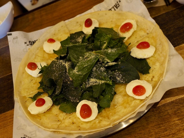 Ninae Pizza-Spinach ($18.80)