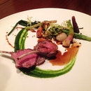 And for #dinner, we have the rack of lamb.