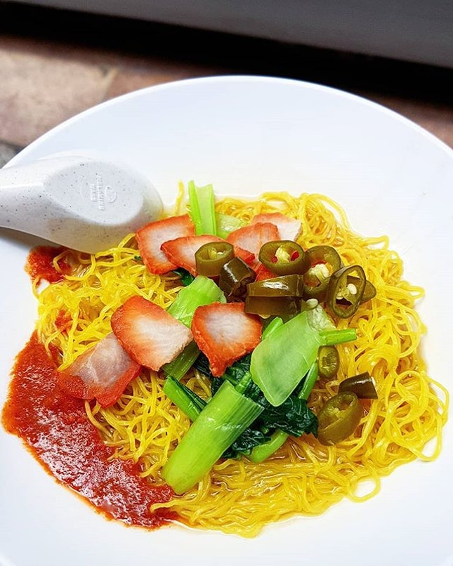 Back for some Nam Seng #wantonmee after not having it this whole year!