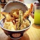 So glad to have a great #tendon place to go to every time the #tempura w #sushirice craving strikes!