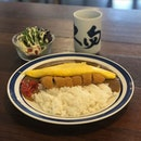 Tonkatsu Curry Rice with Omelet  #food #foodporn #burpple #zomato #eatdrinkkl #cafehopmy #japanesefood #japanesecurryrice #omelet