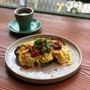 Crabmeat Scramble with Chili Oil #food #foodporn #burpple #zomato #eatdrinkkl #cafehopmy #breakfast