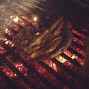 215/365 days - company BBQ night #lamb #food #bbq #grill #nom