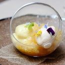 [Verre Modern Bistro & Wine Bar] - The Jasmine Tea Verrine ($16) is another pleasing and delicate dessert that my internal self is screaming for more.