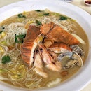 [Xian 鲜] - Today's lunch is at the newly opened Seafood La La White Bee Hoon Place at Blk 304 Ubi Ave 1.