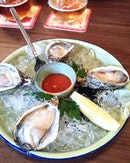 [The Guild] - Sourced from Singapore's only oyster farm off Pulau Ubin, I was surprised by the likable texture of the Freshly Shucked Oysters ($6/pc).