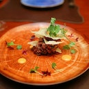 [SKIRT] - Having the beef tartare alone can be a bit surfeit for some.