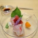 [Sushi Chiharu] - Fresh Sashimi - Maguro and Horse Mackerel.