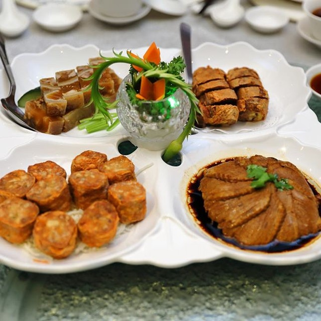 [Chui Huay Lim Teochew Restaurant] - Chui Huay Lim Teochew Cuisine Classic Platter ($58 for 6 pax / $98 for 10pax).