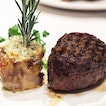 [Morton's of Chicago] - All Natural 10oz Filet with Bone Marrow ($108) which boosts an exceptionally smooth texture for the meat.