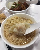 [Chee Kei] - At first sight, one may find the Shrimp Wanton Noodle is pretty costly at $8.95.