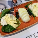 [The Mast' of Mozzarella & Co] - What would be one of the best preludes to your experience at The Mast is the Tris Di Bufala ($28) that offers Burrata, Mozzarella and Special Burrata.
