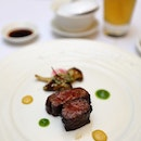 [Crystal Jade Palace] - Grilled USDA Beef Short Rib with Honey Char Siew Sauce.