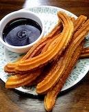 [Tapas Club] - Churros Con Chocolate ($9).