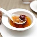 [Jiang Nan Chun] - Double-boiled Hashima and Red Dates and Lotus Seeds.