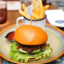 [Baba Chews] - An interesting Asian take of the burger is the Peranakan Pulled Pork Burger ($20).