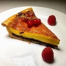 [Culina at COMO Dempsey] - Custard Tart Armagnac Laced Prunes ($15).