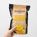 [Golden Duck] - The new Salted Egg Yolk Potato Ridges.