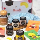[Nuude] - New label by home-grown, award-winning Udders @uddersicecream, Nuude Ice Cream @nuudeicecream presents healthier, all-natural ice cream that is 35% lower in calories, sugar and fat as compared to regular premium ice cream brands.