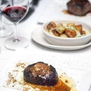 [Morton's The Steakhouse] - The Black Truffle & Porcini-Crusted Center-Cut Wagyu Filet ($118++) is impossibly tender and lean, dusted with porcini mushroom seasoning and black truffle zest, before being broiled and topped balsamic and roasted shallot butter for an explosion of flavours.