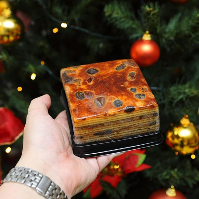 [OLLELLA] - Celebrate this Christmas with its new Fruit Cake Lapis.