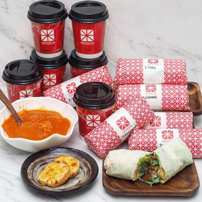 @souperstarsg injects popular flavours from around the world to the nostalgic taste of popiah, changing and challenging the idea of how popiahs should be made, yet paying homage to origins.