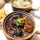 [Kota Zheng Zong Bak Kut Teh] - Best savoured with a bowl of steaming white rice is the Braised Pig's Trotters ($12.90/ $31.90).