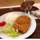 Cheese Pork Cutlet Curry