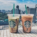Treat yourself to a venti Double Chocolate Green Tea Frappuccino or Chocolate Black Tea with Earl Grey Jelly Frappuccino and have another for free!