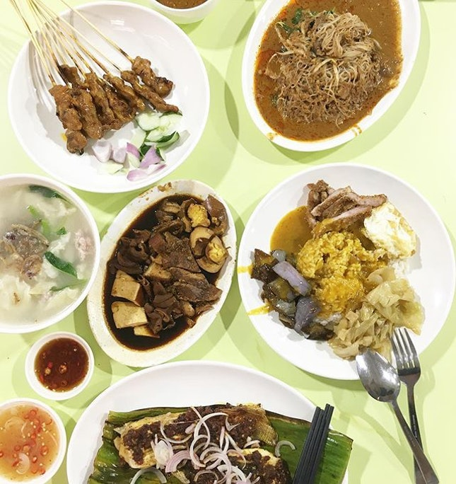 Satay / Satay Beehoon/ Kway Chap