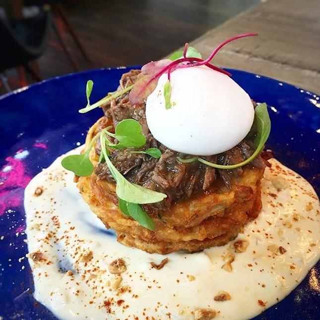 Beef Cheek On Potato Pancake