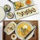 Chicken Laksa/ Chicken Sushi/ Chawanmushi
