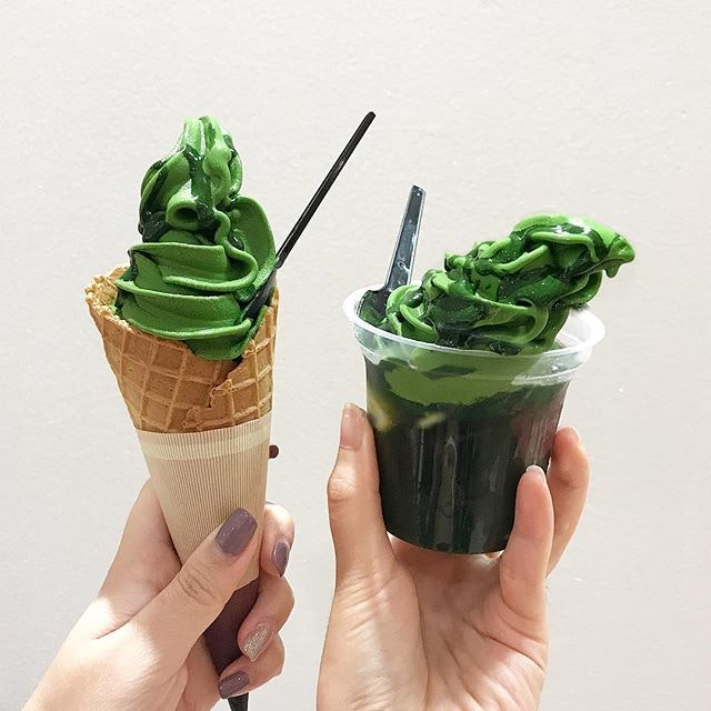 Uji Matcha Nama Soft ($7/ +$7 For Yamari Jelly)