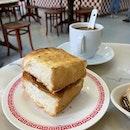 Kaya Toast ($1.20)