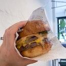 Double Cheeseburger ($15.50)